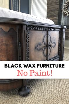 No Way I Was Going To PAINT This one! Not every piece of furniture should be painted. I knew after I removed the old varnish that the wood needed to be restored. This is one makeover I'll never forget. Chalk Paint Furniture, Design Furniture, Furniture Projects, Glazing Furniture, Furniture Repair, Diy Projects, Repurposed Furniture, Vintage Furniture, Funky Furniture