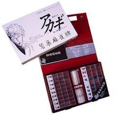 asobitai | Rakuten Global Market: Akagi washizu Mahjong tiles (regular license products)