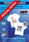£35  A4 Inkjet Transfer Paper Multipack 50 Light And 20 Dark