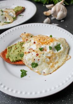 """Eggs with Avocado & Sweet Potato """"Toast"""". Try this simple recipe - Eggs with Avocado & Sweet Potato """"Toast"""" which is a delicious, satisfying Whole 30 meal."""