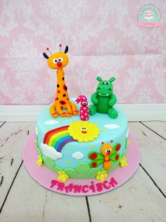 Baby TV Cake * Bolo Baby Tv