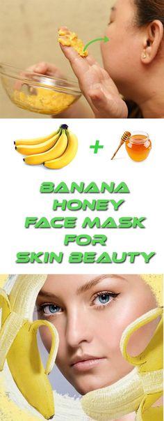 Top Homemade Face Masks For Everyone | Banana Honey Face Mask For Skin Beauty #FaceMask #Banana #Honey #SkinBeauty
