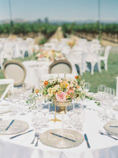 Al fresco reception