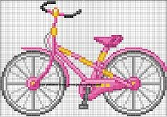 Bicycle - Fahrrad - hama beads by paige