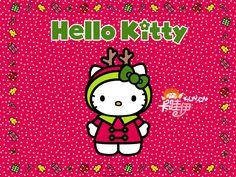 Cute Hello kity wallpaper   Merry christmas hello kitty wallpaper