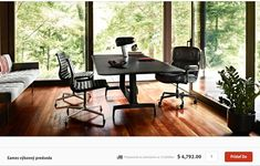 Order your Eames Executive Chair. An original design by Charles and Ray Eames, this modern executive office chair is manufactured by Herman Miller. George Nelson, Herman Miller, Office Workspace, Office Decor, Office Ideas, Workspace Design, Bubble Lamp, Home Office Design, House Design
