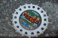 Knoxville Tennessee souvenir plate/ by UpcycledCottageDecor