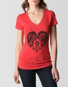 We can't help but fall in love with the Heart Logo tee in Scarlet Red. An original illustration dreamt up by our design team incorporates...