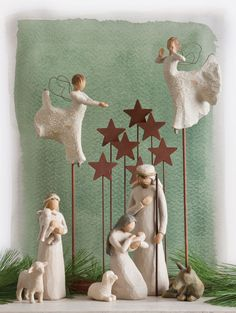 Demdaco Willow Tree Nativity Collection