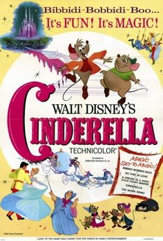Cinderella disney movie poster