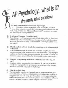 Printables High School Psychology Worksheets worksheets career and psychology on pinterest this is a marketing flyer for ap that includes q section to