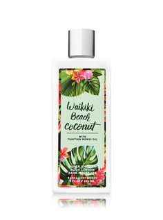 Signature Collection Waikiki Beach Coconut Super Smooth Body Lotion - Bath And Body Works Bath & Body Works, Bath And Body, Bvlgari Aqua, Lotion For Dry Skin, Roll On Bottles, Victoria Secret Body, Body Lotions, Body Spray