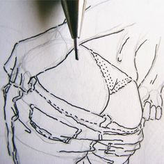 Female Drawing, Body Drawing, Figure Drawing, Female Art, Sexy Drawings, Tattoo Drawings, Tattoos, Art Drawings, Body Sketches