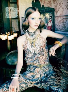"""""""Jewel Intentions"""" from the editorial """"Orient Excess"""" 