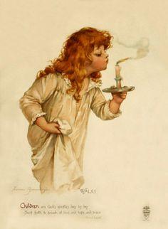 Иллюстратор Frances Brundage (1854–1937) (100 работ)