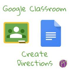 Google Classroom Create Direction