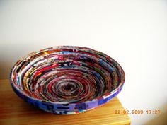 Magazine+Bowls+#howto+#tutorial
