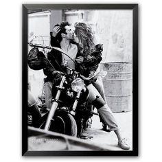 Art.com Harley Davidson Framed Art Print by Frank Schott (€90) ❤ liked on Polyvore featuring home, home decor, wall art, grey, wooden home decor, handmade home decor, gray home decor, grey wall art and grey home decor