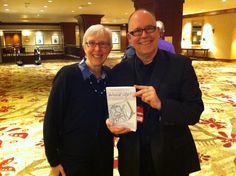 Max Hoffman and Marcia Johnston before #AdobeTCS #Lavacon event. Check out the book - it's prerelease of her new book