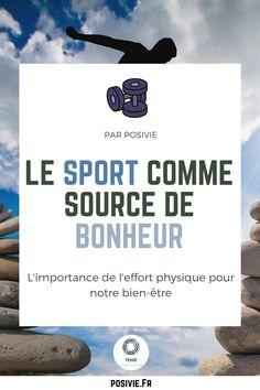 Le sport est bien connu pour être un facteur incontournable du bien-être d'un individu. Le sport se n'est pas seulement un façon de maigrir ou d'être plus beau, non le sport est une source de bonheur. Découvrez en plus dans notre article !