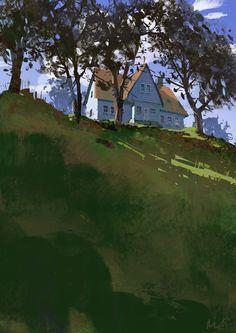 Michal Lisowski -http://www.michallisowski.com/landcape-studies/e4o9w1u5248itml6uj3neldrfm29if