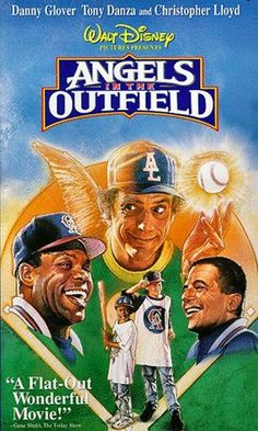 This was our favorite family movie for years!  1994 Angels in the Outfield