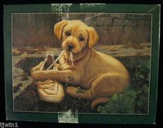 The Missing Shoe Adorable Puppy 550 Piece Bits Pieces Jigsaw Puzzle D 46 | eBay $2.99