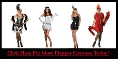 Liberal Flapper Costumes for Women this Halloween
