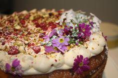 Raspberry rosewater cake Rose Water, Tart, Raspberry, Cheesecake, Pudding, Cakes, Desserts, Food, Cake