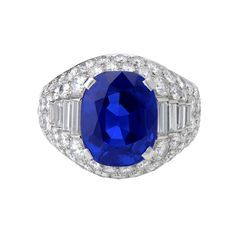 BULGARI Burma Sapphire Ring