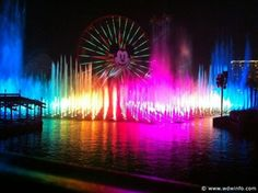 Disneyland.  For my Kids.  And I want to see World of Color live...