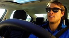 """Interview   Andreas Mikkelsen in """"The almost selfie""""   VW RALLYTHEWORLD // Andreas Mikkelsen about his passion for driving, his mom and his gorgeous hair. (Don't interview and drive, unless you are a talented and handsome rally pro!)"""