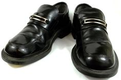 Skechers Shoes Mens Size 8.5 M Black Patent Leather Loafers #SteveMadden #Loafer