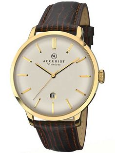 Accurist Mens London Strap Watch 7012
