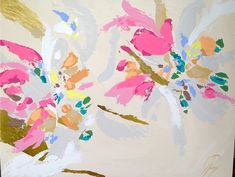 Janie Pinney abstract painting