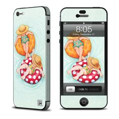 So, who's leaving for summer vacation this weekend? If you're shopping for new Skins or Cases, select USPS or Airmail shipments as these will be delivered into your mailbox - you do not have to be home. Have fun! ~featuring http://www.istyles.com/skins/phones/apple-iphone/iphone-5/inner-tube-girls-iphone-5-skin-p-159563.html