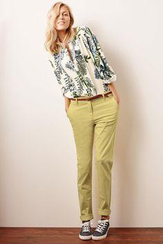 Buy Ecru Floral Grandad Shirt - 125-912   Next UK