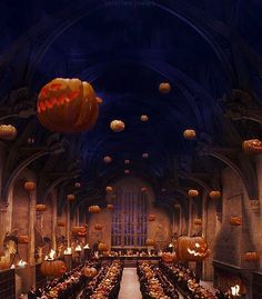 What I wouldn't give to spend all my Halloweens at Hogwarts