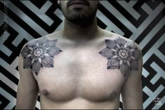 Mandala Tattoo Chest
