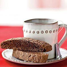 Food Gift Idea: Double-Chocolate Biscotti | CookingLight.com