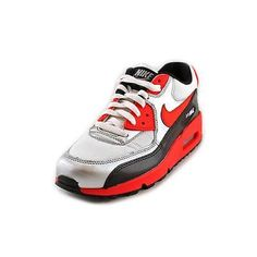 Nike Air Max 90 (ps) Youth Boys Size 6 Red Running Shoes