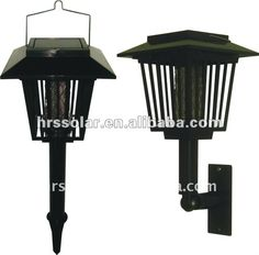 Solar mosquito insect killer light with LED lamp $5~$10
