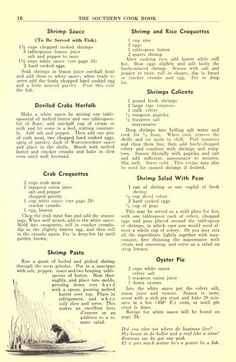 The Southern cook book of fine old recipes Retro Recipes, Old Recipes, Vintage Recipes, Cookbook Recipes, Fish Recipes, Seafood Recipes, Cooking Recipes, Victorian Recipes, Heritage Recipe