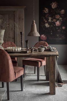 Interior Design Living Room, Living Room Decor, Interior Styling, Interior Decorating, Cottage Dining Rooms, Dark Interiors, Interior Inspiration, Sweet Home, House Design