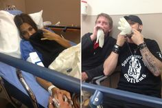 Jana Kramer in the hospital after dehydration and the flu and Brantley Gilbert keeping her smiling!