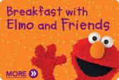 Remember to make reservations - Sesame Place breakfast with Elmo. Maybe do the afternoon snack with Cookie Monster.