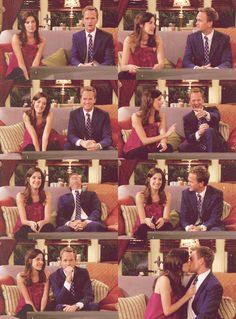 Robin and Barney, How I Met Your Mother - Sandcastles in the Sand Ted And Robin, Barney And Robin, Series Movies, Movies And Tv Shows, Tv Series, How Met Your Mother, Robin Scherbatsky, Himym, Movie Couples