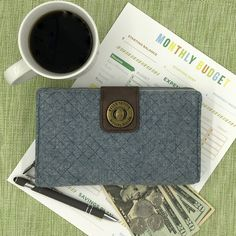 The Cash System Wallet makes cash envelope budgeting easy.  Learn more here: