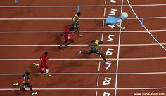 Pour sa ballade matinale, Super Yonis a participé au dernier Championnat du monde d'Athlétisme. Yonis-Shop.com