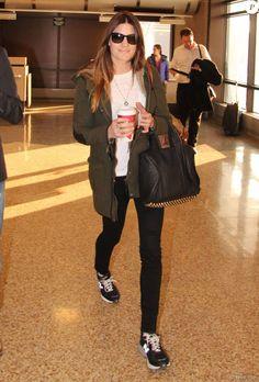 Jennifer Carpenter - People arrivant a l'aeroport de Salt Lake City pour assister au festival du film de Sundance, le 21 janvier 2013.